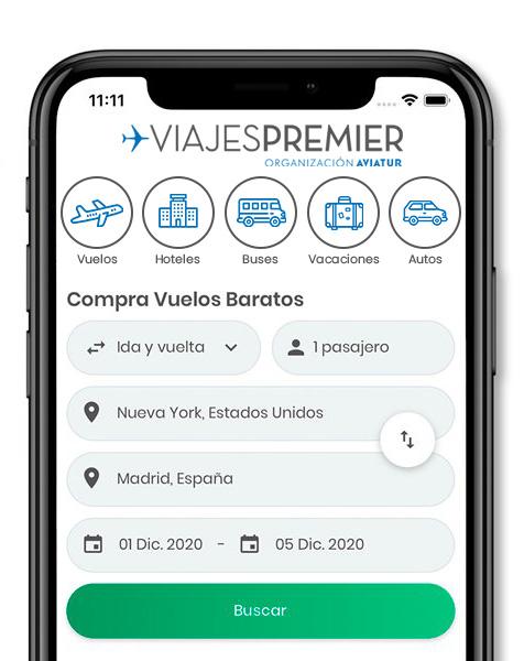 App Viajes Premier